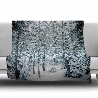 Winter Trials by Juan Paolo Fleece Blanket Size: 80 L x 60 W