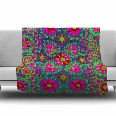 Kashmeer Love by S. Seema Z Fleece Blanket Size: 80 L x 60 W