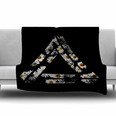 Impossible Daisy Chain by Alias Fleece Blanket Size: 40 L x 30 W
