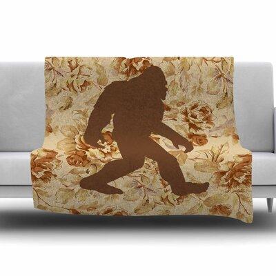 Bigfoot by Alias Fleece Blanket Size: 80 L x 60 W