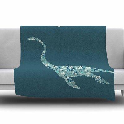 Nessie by Alias Fleece Blanket Size: 80 L x 60 W