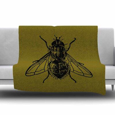 Too Fly by Alias Fleece Blanket Size: 80 L x 60 W