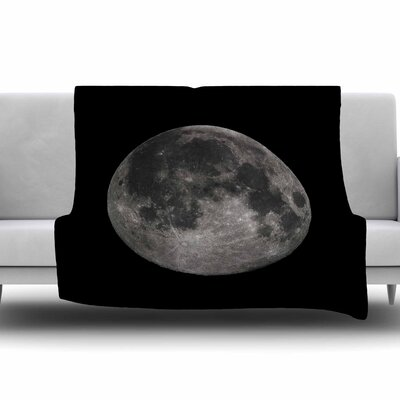 Luna by Alias Fleece Blanket Size: 80 L x 60 W