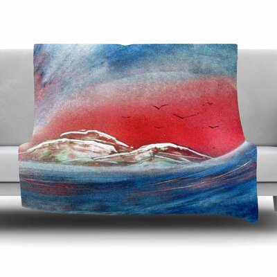 Tubular by Infinite Spray Art Fleece Blanket Size: 80 L x 60 W