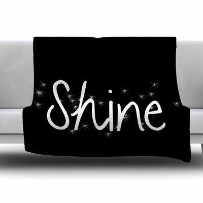 Shine by Suzanne Carter Fleece Blanket Size: 80 L x 60 W