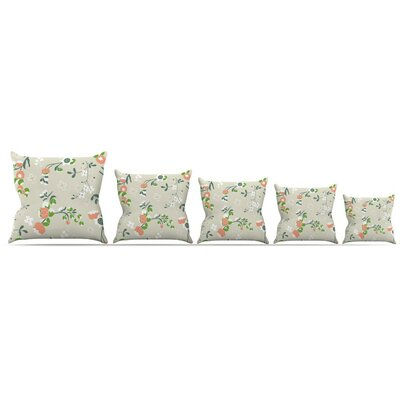 Early Waking Throw Pillow Size: 26 H x 26 W x 5 D