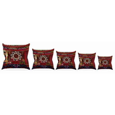 Burst of Diverse Throw Pillow Size: 16 H x 16 W x 3 D