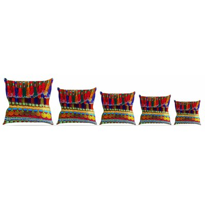 Boho Mania Throw Pillow Size: 16 H x 16 W x 3 D