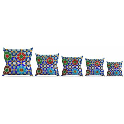 Morrocon Throw Pillow Size: 18 H x 18 W x 3 D