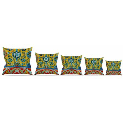 Persian Mood Throw Pillow Size: 16 H x 16 W x 3 D