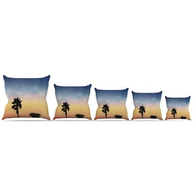 Carlsbad Sunset Throw Pillow Size: 26 H x 26 W x 5 D