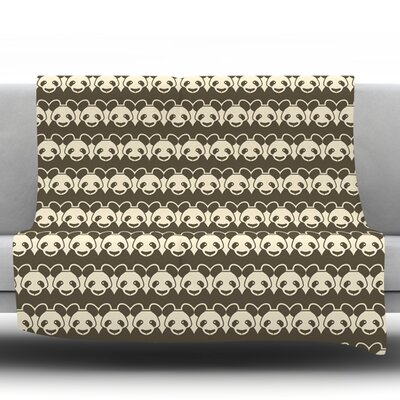 Panddern Fleece Throw Blanket Size: 60 L x 50 W