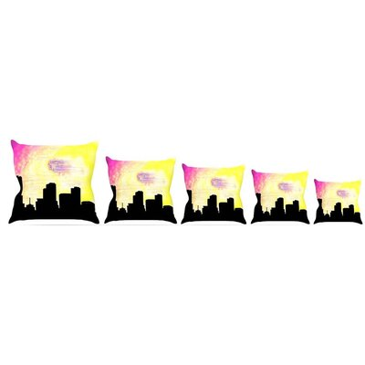 Skylined Throw Pillow Size: 16 H x 16 W x 3 D