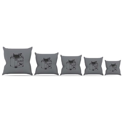 To Kill a Mockingbird Throw Pillow Size: 16 H x 16 W x 3 D