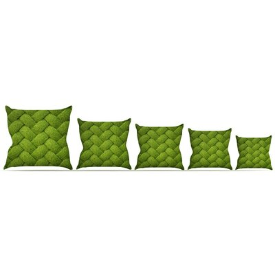 Ivy Basket Throw Pillow Size: 16 H x 16 W x 3 D