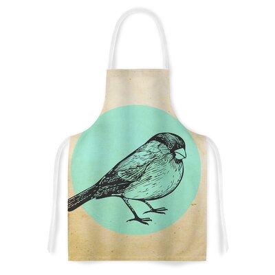 Old Paper Bird Artistic Apron EASU1916 34051685