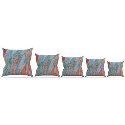 Beach Dreams Throw Pillow Size: 16 H x 16 W x 3 D