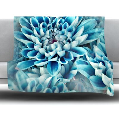 Floral Paradise Fleece Throw Blanket Size: 80 L x 60 W