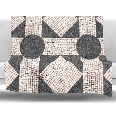 Mosaic Fleece Throw Blanket Size: 80 L x 60 W
