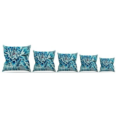 Floral Paradise Throw Pillow Size: 16 H x 16 W x 3 D