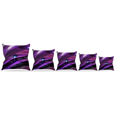 Birds of a Feather Throw Pillow Size: 18 H x 18 W x 3 D