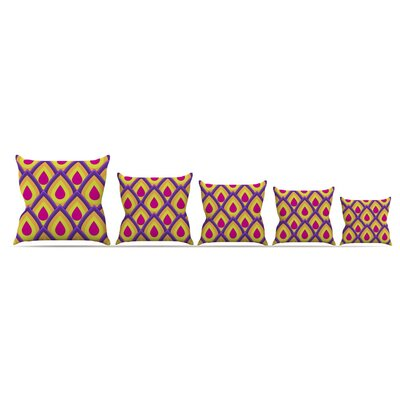 Pineapple Throw Pillow Size: 18 H x 18 W x 3 D