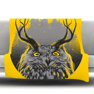 Majesty Fleece Throw Blanket Size: 80 L x 60 W