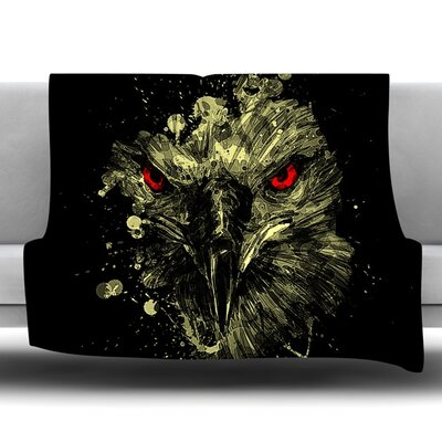 Eagle Fleece Throw Blanket Size: 80 L x 60 W
