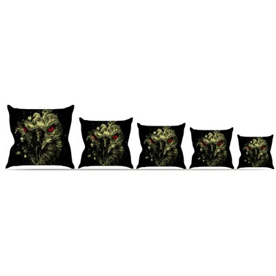 Eagle Throw Pillow Size: 16 H x 16 W x 3 D