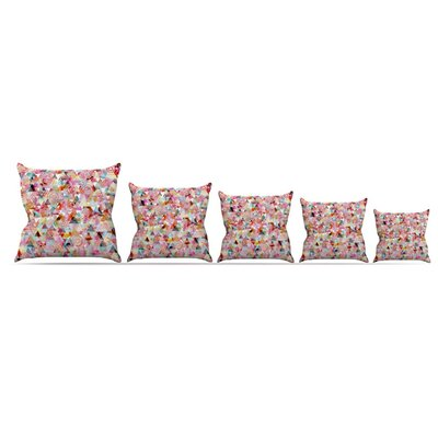 Geo Throw Pillow Size: 26 H x 26 W x 5 D