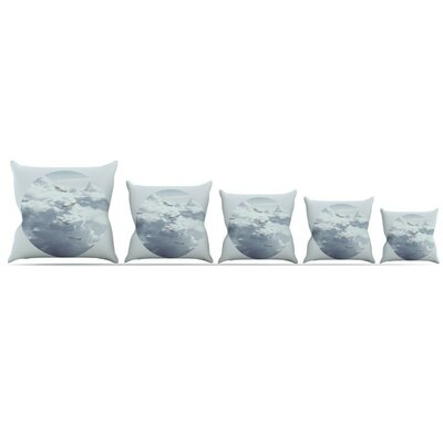 Feathers Throw Pillow Size: 20 H x 20 W x 4 D