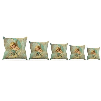Angel Throw Pillow Size: 16 H x 16 W x 3 D
