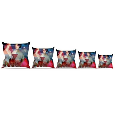 Twins Throw Pillow Size: 16 H x 16 W x 3 D