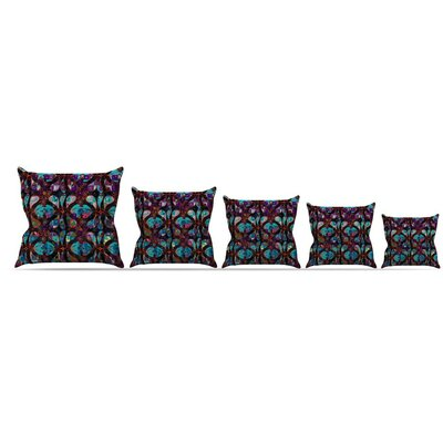 Pattern Throw Pillow Size: 16 H x 16 W x 3 D