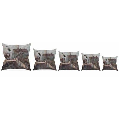 Away Throw Pillow Size: 16 H x 16 W x 3 D