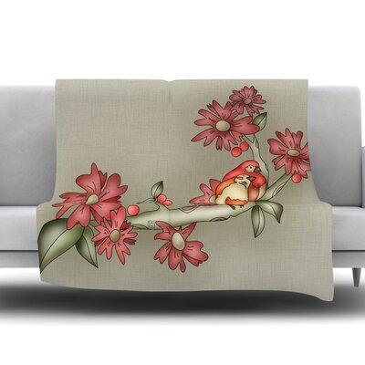 Feng Shui by Carina Povarchik Fleece Throw Blanket Size: 80 L x 60 W