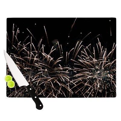 "Fireworks by Catherine McDonald Cutting Board Size: 11"" W x 7.5"" D EASU2361 34052822"