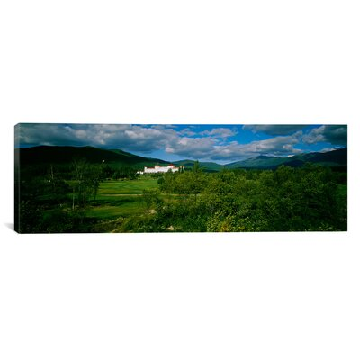 'Hotel in the Forest, Mount Washington Hotel, Bretton Woods, New Hampshire' Photographic Print on Canvas EASU3067 34060583