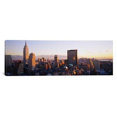 Panoramic Buildings in a City, Manhattan, New York City, New York State Photographic Print EASU4042 34072653