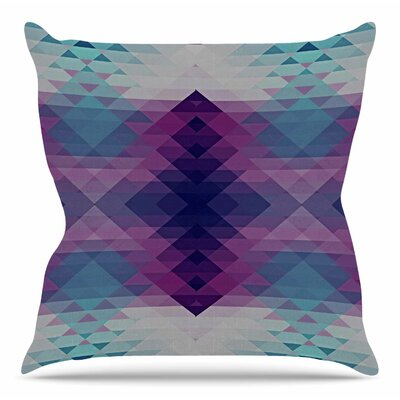 Hipsterland II by Nika Martinez Throw Pillow Size: 18 H x 18 W