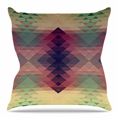 Hipsterland by Nika Martinez Throw Pillow Size: 20 H x 20 W