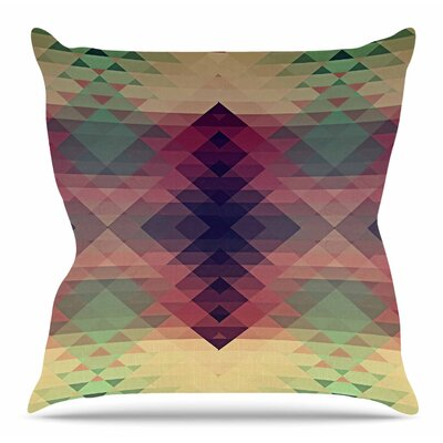 Hipsterland by Nika Martinez Throw Pillow Size: 18 H x 18 W