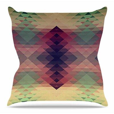 Hipsterland by Nika Martinez Throw Pillow Size: 20 H x 20 W