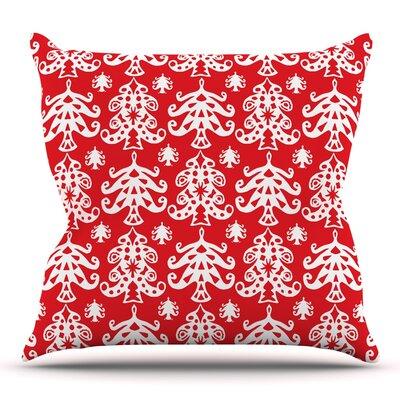 Ornate Trees by Miranda Mol 16 Throw Pillow