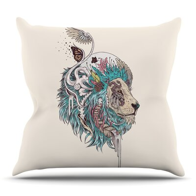 Unbound Autonomy by Mat Miller Throw Pillow Size: 20 H x 20 W