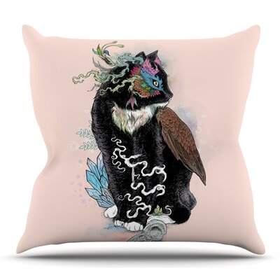 Black Magic by Mat Miller Throw Pillow Size: 20 H x 20 W