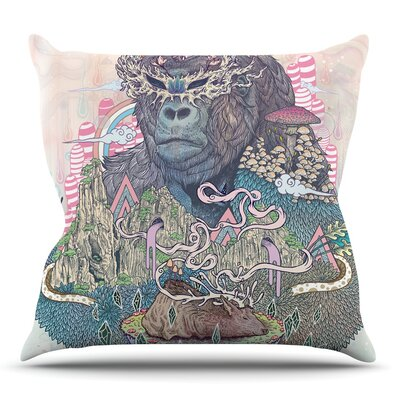 Ceremony by Mat Miller Throw Pillow Size: 18 H x 18 W