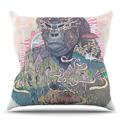 Ceremony by Mat Miller Throw Pillow Size: 20 H x 20 W