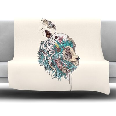 Unbound Autonomy by Mat Miller Fleece Blanket Size: 40 L x 30 W