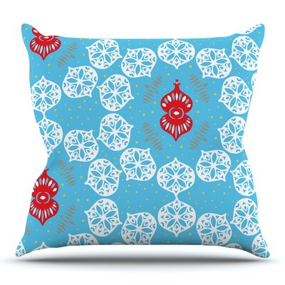Frosted by Miranda Mol Throw Pillow Size: 16 H x 16 W